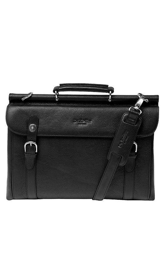 4f61f16a0927 Мужской портфель на саквояжной планке Dr.Koffer P402227-02-04